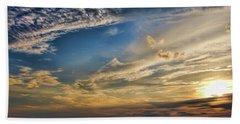 Sunset-lake Buchanan Texas Beach Towel