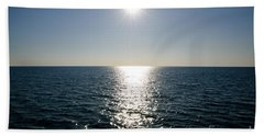 Sunshine Over The Mediterranean Sea Beach Towel