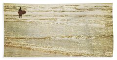 Surf The Sea And Sparkle Beach Towel