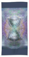 Synthesphered Grail On Caducus Blazed Tapestrys Beach Towel