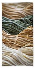 Tagliolini Pasta Beach Sheet by Elena Elisseeva