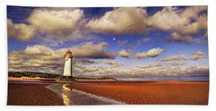 Talacre Lighthouse Beach Towel