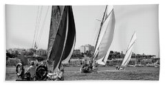 Beach Sheet featuring the photograph Tall Ship Races 2 by Pedro Cardona