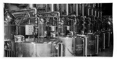 Tequilera S.s. Distillation Tanks Beach Sheet by Lynn Palmer