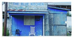 The Blue Kitchen Beach Towel