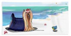 The Blue Prince Beach Towel