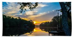 The Calm Place Beach Towel by Shannon Harrington