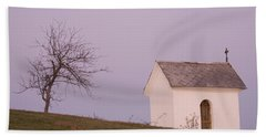 The Chapel On The Hill Beach Towel