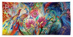 The Colors Of Day Beach Towel