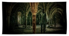 Beach Towel featuring the photograph The Crypt by Chris Lord
