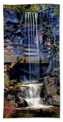 Beach Towel featuring the photograph The Falls by Deena Stoddard