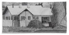 The House Across Beach Sheet by Kume Bryant
