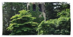 The Longwood Gardens Castle Beach Towel