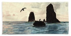 The Needles Beach Towel by Wendy McKennon