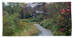 The Old Mill Stream Beach Towel