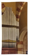 the Organ Augusta Victoria Jerusalem Beach Towel