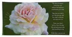 The Peace Rose Beach Sheet