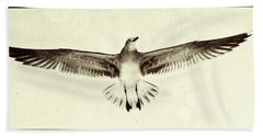 The Perfect Wing Beach Towel by Jim Moore