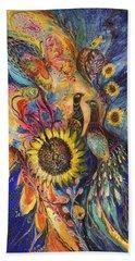 The Sunflower ... Visit Www.elenakotliarker.com To Purchase The Original Beach Towel