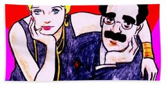 Thelma And Groucho Beach Towel