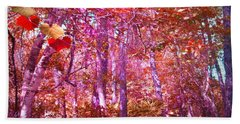 Beach Towel featuring the photograph Thicket In Color by George Pedro