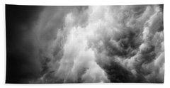 Thunderclouds Beach Towel