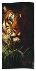 Tigers Head Beach Towel