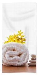 Towel Roll Beach Sheet by Atiketta Sangasaeng