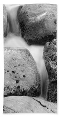 Beach Towel featuring the photograph Tower Creek Detail by Doug Herr
