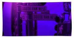 Beach Towel featuring the photograph Traffic Stop by George Pedro