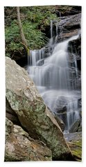 Tranquil Waterfall Beach Towel