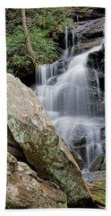Tranquil Waterfall Beach Towel