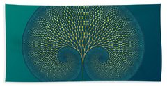 Tree Of Well-being Beach Towel