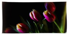 Tulip Dream Beach Towel