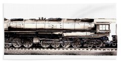 Union Pacific 4-8-8-4 Steam Engine Big Boy 4005 Beach Sheet