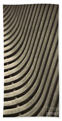 Beach Towel featuring the photograph Upward Curve. by Clare Bambers