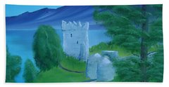 Urquhart Castle Beach Towel