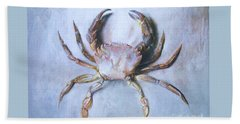 Velvet Crab  Study Beach Towel