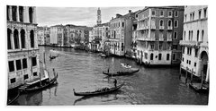 Beach Sheet featuring the photograph Venezia by Eric Tressler