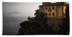 Vesuvius From Sorrento Beach Towel