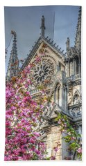 Beach Sheet featuring the photograph Vibrant Cathedral by Jennifer Ancker