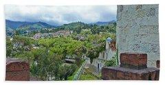 View From The City Walls - Loja - Ecuador Beach Towel