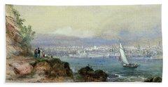 View Of Sydney Harbour Beach Towel