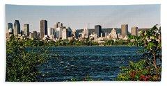Beach Towel featuring the photograph Ville De Montreal by Juergen Weiss