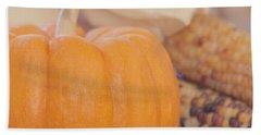 Vintage Autumn Harvest  Beach Towel