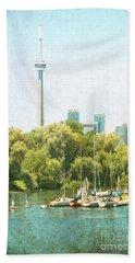 Vintage Toronto Beach Sheet