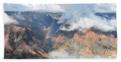 Waimea Canyon Rainbow Beach Towel