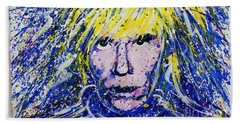 Warhol II Beach Towel