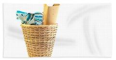 Waste Paper Bin Beach Towel