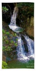 Waterfall In The Currumbin Valley Beach Towel